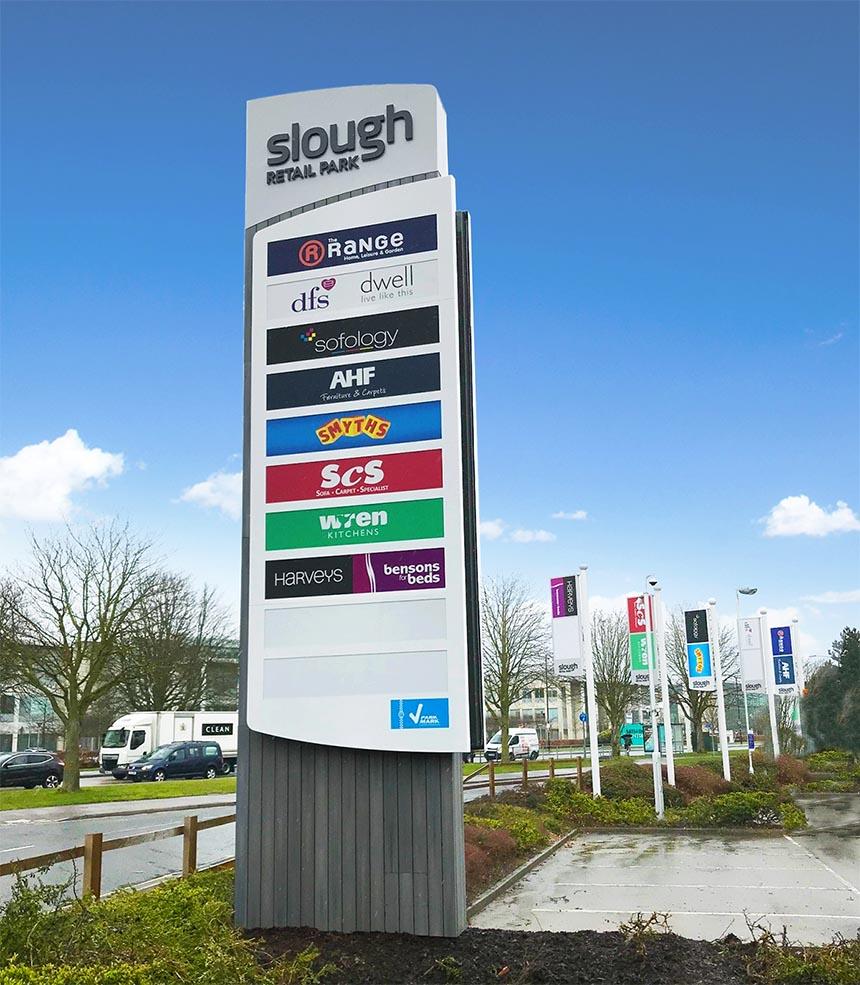 Slough-Retail-Park-Flags